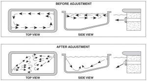 Pool Cleaner Flow Adjustment