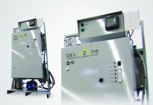 Ozone sanitizer for swimming pools