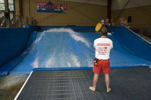 aquatic play features