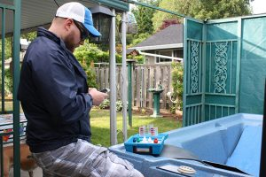 maximizing time on pool service calls