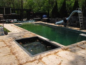 swimming pool baby sitting service for clients