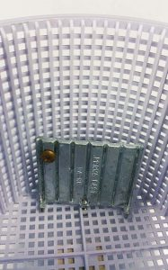 Zinc anode discs, intended to sit in the skimmer basket, are also available.