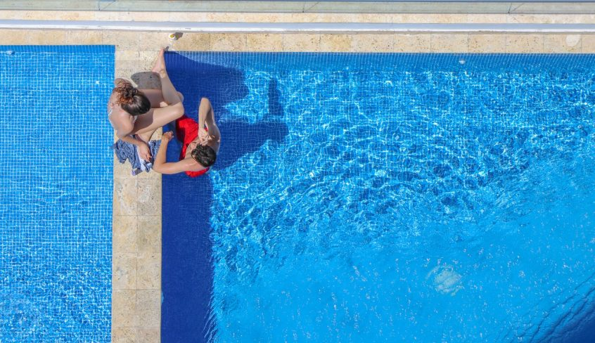 Pool leak detection can be a matter of inspecting each line internally via a camera—from the pool to the pump—looking for any obvious problems.